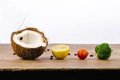 Train des fruits et légumes Photo stock
