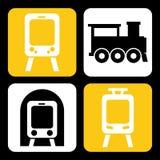 Train design Stock Photo