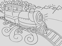 Train Doodle Royalty Free Stock Photo