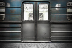 Train door Stock Photography