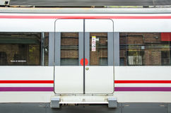 Train door Royalty Free Stock Photography