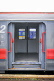 Train doors Stock Photography