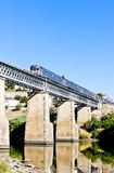 Train in Douro Valley Royalty Free Stock Photo