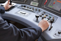 Train driver Stock Photography