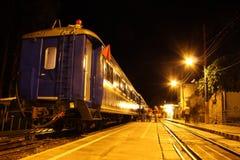 Train du Pérou Photographie stock