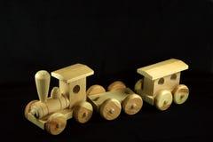 Train en bois de jouet Image libre de droits