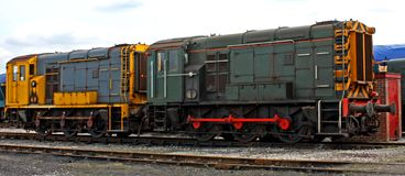 Train Engines. Royalty Free Stock Images