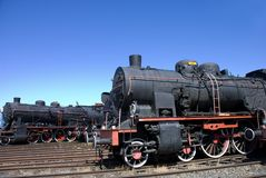 Train Engines Stock Image