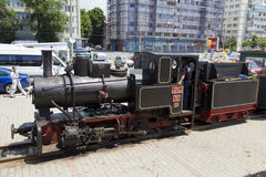 Train exhibition at Gara de Nord Royalty Free Stock Photography