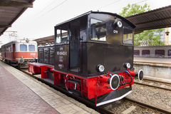 Train exhibition at Gara de Nord Royalty Free Stock Photo
