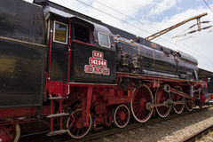 Train exhibition at Gara de Nord Royalty Free Stock Images