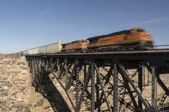 Train expédiant Photos stock