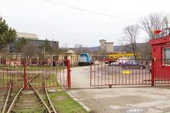 Train factory Royalty Free Stock Photo