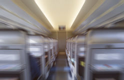 Train fast speed in motion blur. Effect Royalty Free Stock Photo