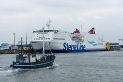 Train ferry Mecklenburg-Vorpommern Stock Image
