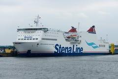 Train ferry Mecklenburg-Vorpommern Royalty Free Stock Photos