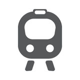 Train flat icon. Vector illustration EPS10. Travwl concept Stock Images
