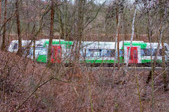 Train in the Forest Stock Photos