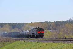 Train freight.JPG Royalty Free Stock Photography