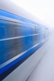 Train going fast Royalty Free Stock Photography