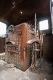 An train graveyard Stock Photo