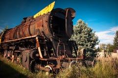 Train graveyards, Krakow, Poland Stock Photo