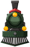 Train in green color Royalty Free Stock Photography