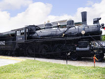 Train at the Historic Casey Jones Home & Railroad Museum in Jackson, Tennessee Stock Image