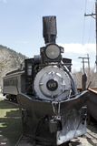 Train historique sur une voie Image stock