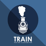 Train icon Royalty Free Stock Images