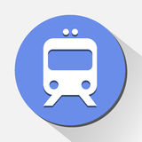 Train icon great for any use. Vector EPS10. Stock Images