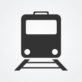 Train icon Stock Image