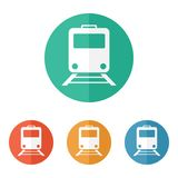 Train icon Royalty Free Stock Photo