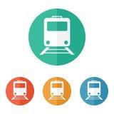 Train icon Royalty Free Stock Photo