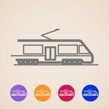 Train Icons Royalty Free Stock Image