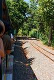 Train in Iguassu Royalty Free Stock Photos