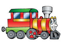 Train  illustration Royalty Free Stock Photos