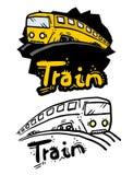 Train illustration Royalty Free Stock Photography