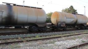 Train. Image was shot in jambol bulgaria stock footage