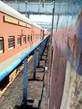 Train. Indian southern railway Stock Image