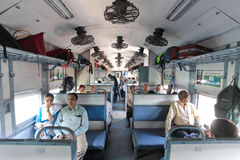 Train indien Photos stock
