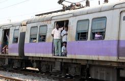Train indien Photographie stock