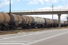 Train industriel Image stock