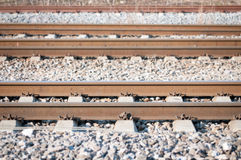 Train infrastructure Royalty Free Stock Photo