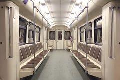 Train inside Stock Photo