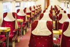 Train inside Royalty Free Stock Image