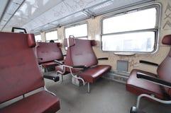 Train interior Stock Photography
