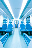 Train interior Royalty Free Stock Photo