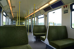 Train interior Royalty Free Stock Photos