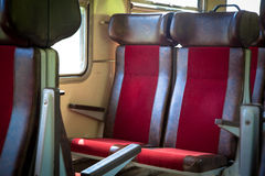 Train interior Royalty Free Stock Photography